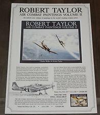 Robert Taylor - Air Combat Paintings Volume II -  Aviation Art FLYER