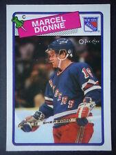 NHL 13 Marcel dionnenew York Rangers o-pee-chee 1988/89
