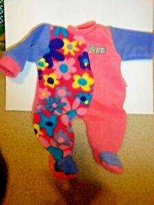 "Zapf creations baby born doll Purple & Pink Winter Chou Chou Pajamas 16"" - 18"""