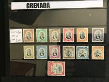 More details for grenada gvi sg172-184, complete set, m mint. cat £35.