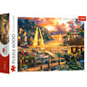 Trefl 6000 Piece Adult Large Catching Dreams Sailing Sunset Floor Jigsaw Puzzle