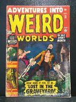 ADVENTURES INTO WEIRD WORLDS #12 Nov. 1952 Atlas Comics (4.0) CLASSIC COVER