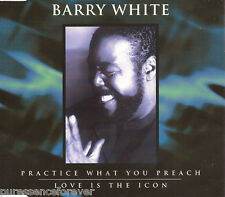 BARRY WHITE - Practice What You Preach (UK 4 Tk CD Single)