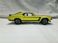 New Listing1969 Mustang Boss 302 Yellow Franklin Mint Nib Fastback Nos