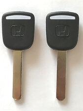 2 Honda HO01 Transponder Key Civic Element CRV Pilot Odyssey 02 03 04 05 06 USA
