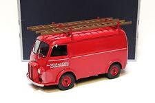 1:18 norev peugeot d4a * Pompiers * red new en Premium-modelcars