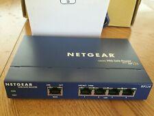 Netgear RP114 100 Mbps 4 Port 10/100 Web Safe Cable DSL Router RP114 WAN LAN