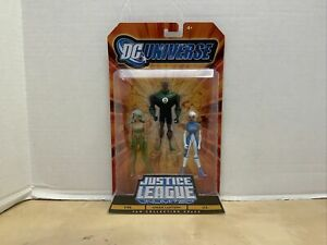 NEW DC UNIVERSE JUSTICE LEAGUE UNLIMITED FIRE GREEN LANTERN & ICE FIGURES! S156