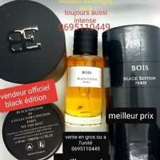 PARFUM COLLECTION PRIVEE N°1 BOIS SENTEUR D'ARGENT BLACK EDITION N1
