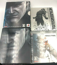 Metal Gear Solid 4 Limited Edition Japan First Print with Steelbook 2-disc PS3