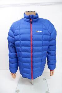 Berghaus Hydrodown 600 Mens Jacket, Size XL, Blue, Puffer, VGC