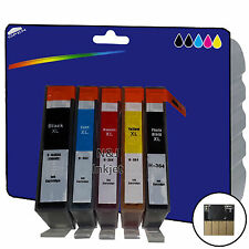 1 Set of non-OEM 364x5 Ink for HP C309g C309h C309n C310a C309a C309c C410b