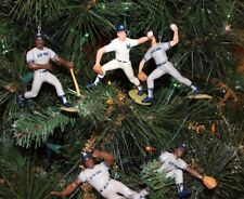 NEW YORK YANKEES CHRISTMAS ORNAMENTS SET 5 WINFIELD RANDOLPH RIGHETTI WILLIE ++