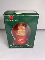 VINTAGE American Greetings Collectible Home For The Holidays 1992 Ornament Xmas