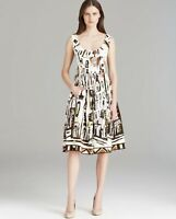 Kate Spade Scoop Neck Landscape Dress.