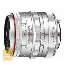 NUOVO Pentax HD DA 20-40mm f/2.8-4 ED DC WR LENTE LIMITED/Argento per k-3 k-5ii