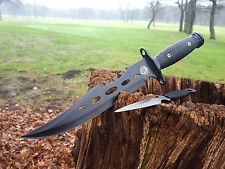 2er Set Bowie Coltello machete COLTELLO DA CACCIA HUNTING KNIFE Costello macete NUOVO