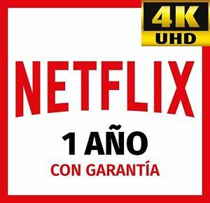NETFLIX 1 AÑO 4K (𝟏𝟐 𝐌𝐄𝐒𝐄𝐒) | 4 DISPOSITIVOS | ENTREGA INMEDIATA ✅