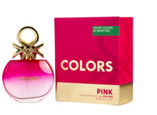 Benetton Colors Pink for Her EDT 80ml