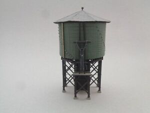 HO Scale Campbell Water Tower, Built and Used.