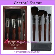 ❤️⭐ NEW Coastal Scents 4 EVERYTHING 😍🔥👍 4-Piece Brush Set w/Case ❤️⭐ Travel