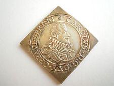 Liechtenstein Karl von L. Klippe mit 3 Dukaten Stempel von 1968 Silber Ag