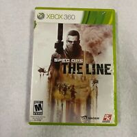 Spec Ops: The Line Xbox 360 Shooter (Video Game) Complete CIB W/ Manual