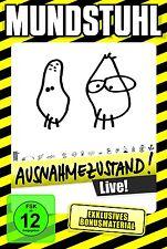 MUNDSTUHL - AUSNAHMEZUSTAND  DVD NEU
