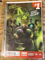 Avengers Undercover #1 (2014 Series) VF Marvel Comic Dennis Hopeless