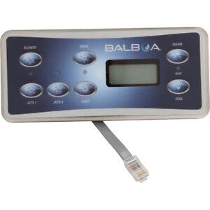 Balboa 53189-01 Spa Side Control Standard Series Panel