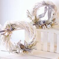 Christmas Wreath Illustration Wedding Wreath Rattan Weaving Wedding Party Decor