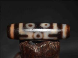 old tibetan dzi bead agate genuine 7 eyed antique gzi seven eyes amulet necklace