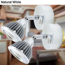 2X12V RV Boat Interior Light Fixtures Natural White Vintage LED Reading Lighting
