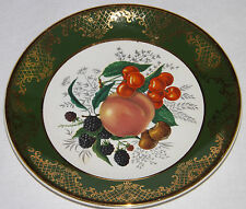 Berries Cherries Small Plate Weatherby Hanley England Royal Falcon Ware 3 - 72