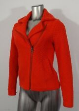 Lucky Brand women's warm sweater jacket red S new
