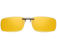 Unisex Clip-on Night Vision Goggles Polarized Sunglasses Vintage Driving Glasses