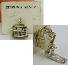 Vintage Sterling Silver Bracelet Charm Old Curiosity Shop Charles Dickens!