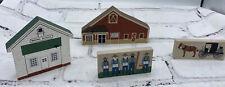 Vintage Cats Meow Village Amish Craftsmen Series signed Faline