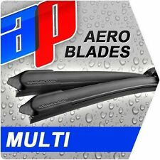 AUDI A4 AVANT TWIN HEADLIGHT 1995-00 - AeroFlat Multi Adapter Wipers - 21/21in