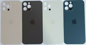 iPhone 12 Pro Max Akkudeckel Backcover Rückseite Graphit Gold Silber Blau