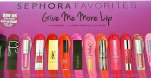 Sephora Favorites Give Me More Lip Wardrobe 2015 NARS,YSL,BITE,URBAN DECAY,CIATE