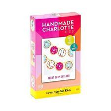 Kids Craft Kit Faber-Castell Creativity for Kids, Donut Shop Garland, Nib 6+
