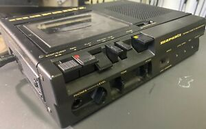 Marantz PMD101 Cassette Deck with Half Speed Option in Box with power supply