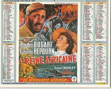 Almanach du Facteur 1992  -  Humphrey Bogart , Katharine Hepburn, Joan Crawford