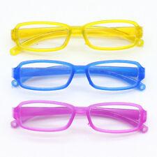 1 Pair Plastic Rimmed Eye Glasses for 1 / 6 Blyth &1 / 3 BJD Dolls Funny Toy