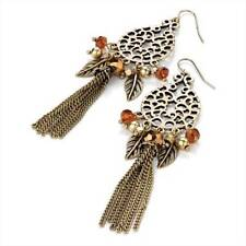 Unbranded Mixed Metals Drop/Dangle Costume Earrings
