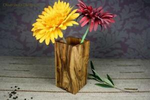 Olivenholz Blumenvase Vase Holz
