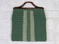Tragetasche Tasche Handtasche Handbag Wolle 60er 70er Jahre Vintage