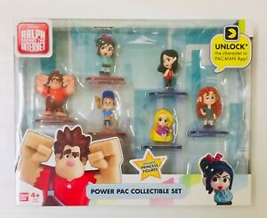 NIB Wreck-it Ralph Breaks the Internet Power Pac Collectible Figure Toy Set