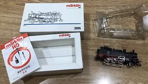 Märklin 3095 Steam Tank Engine Locomotive Series BR 74 701 DB Gauge H0 Boxed